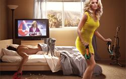 Постер фильма «Блондинка в эфире»