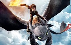 Постер фильма «Как приручить дракона 2»