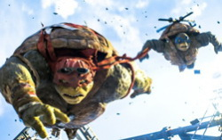 Кадр из фильма «Черепашки-ниндзя»