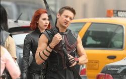 На съемках «Мстителей». Фото с сайта kinopoisk.ru