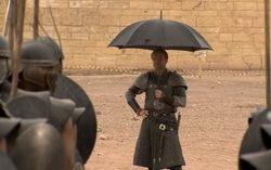 На съемках «Игры престолов». Фото с сайта kinopoisk.ru
