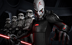 Постер анимационного сериала «Звездные войны: Повстанцы»