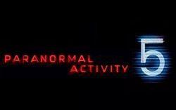 Тизер-постер фильма «Паранормальное явление-5»