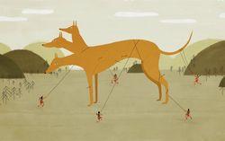 Кадр из мультфильма «42 симфония»
