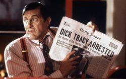 Аль Пачино не впервой сниматься в комиксах. Кадр из фильма «Дик Трэйси»