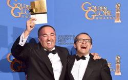 Звягинцев и Роднянский на «Золотом глобусе». Фото с сайта imdb.com