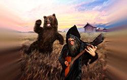 Фрагмент альбома «В душе драм, в сердце светлая Русь!» Нейромонаха Феофана.
