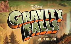 Постер сериала «Грэвити Фоллс»