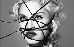 Мадонна. Фрагмент обложки альбома Rebel Heart