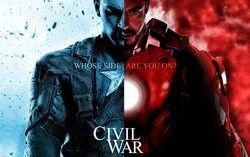Фан-постер фильма «Первый мститель: Гражданская война»