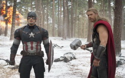 Кадр из «Мстители: Эра Альтрона»