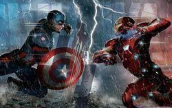 Концепт-арт к фильму «Первый мститель 3: Гражданская война»