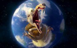 Кадр из мультфильма «Ледниковый период 4: Континентальный дрейф»