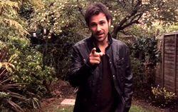 Мэтт Райан на площадке сериала «Стрела». Фото из Твиттера Мэтта Райана