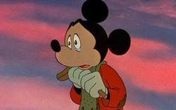 Кадр из мультфильма «Рождественская история Микки»