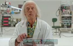 Кадр из фильма «Док Браун спасает мир»