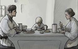 Кадр из комикса «звездные войны: История до Пробуждения силы»
