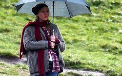 Рене Зеллвеггер на съемках «Ребенок Бриджет Джонс». Фото с сайта comingsoon.net