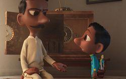 Кадр из мультфильма «Санджай и его суперкоманда»
