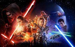 Постер фильма «Звездные войны. Эпизод 7. Пробуждение силы»