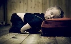 Спящий ребенок. Фото с сайта margashov.com