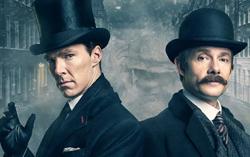 Постер спецвыпуска сериала «Шерлок»