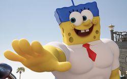Кадр из мультфильма «Губка Боб в 3D»