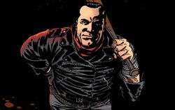 Персонаж комикса Роберт Киркман Неган. Изображение с сайта undeadwalking.com