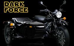Мотоцикл Ural Dark force. Фото с сайта uralmoto.ru