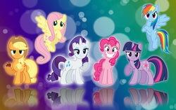Постер к мультфильму «Мой маленький пони: дружба – это чудо»». Изображение с сайта trikky.ru