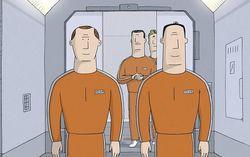 Кадр из мультфильма «Мы не можем жить без космоса»