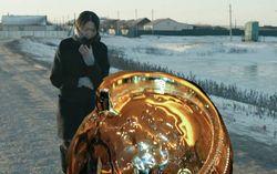 Новая калмыцкая сказка: Шла-шла, глобус нашла...
