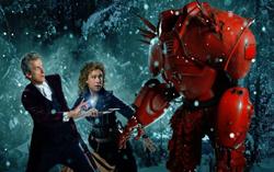 Постер праздничного эпизода сериала «Доктор Кто»