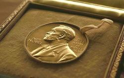 Медаль, вручаемая лауреату Нобелевской премии. Фото с сайта ria.ru