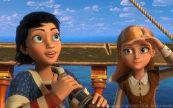 Кадр из мультфильма «Снежная королева 2: Перезаморозка»