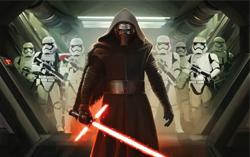 Промо постер к фильму «Звездные войны: Пробуждение силы»
