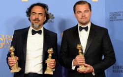Иньярриту и ДиКаприо с наградами. Фото с сайта imdb.com