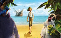 Постер фильма «Робинзон Крузо: Очень обитаемый остров»
