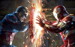 Арт из фильма «Первый Мститель: Противостояние»