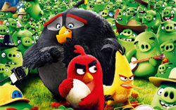 Постер фильма «Angry Birds вкино»