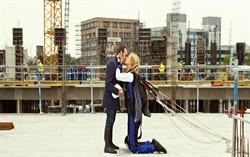 Кадр из фильма «Любовь не по размеру»