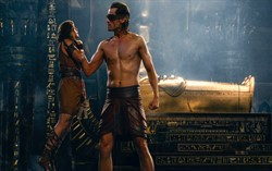 Кадр из фильма «Боги Египта»