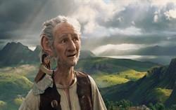 Кадр из фильма «Большой и добрый великан»