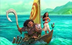 Кадр из фильма «Моана»