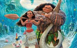 Постер фильма «Моана»