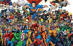 DC Comics против Marvel Comics
