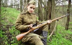 Военно-историческая реконструкция. Фото с сайта Narod.ru