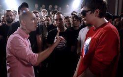 Кадр из клипа «Oxxxymiron VS Слава КПСС (Гнойный)»
