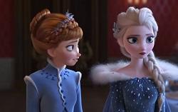 Кадр из мультфильма «Олаф и холодное приключение»
