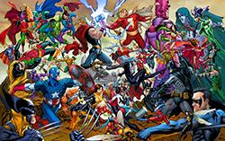 Marvel против DC